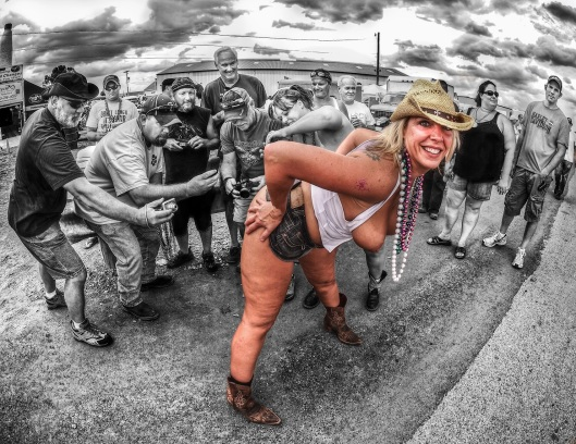 Bikers Mardi Gras #14 Copyright 2014 Daniel D. Teoli Jr.