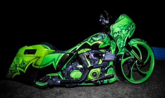 Bikers Mardi Gras #6  Copyright 2014 Daniel D. Teoli Jr.