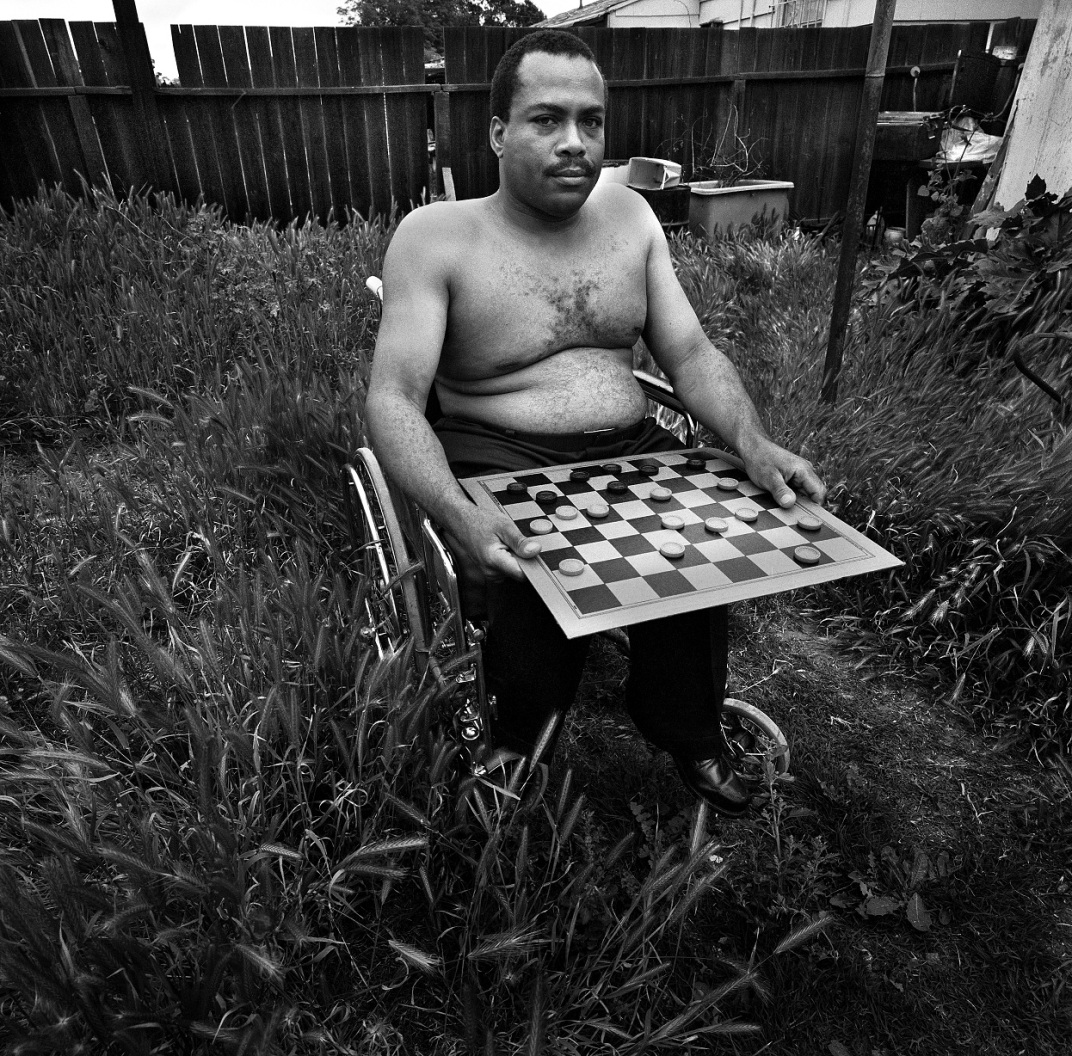 'Vietnam Veteran in His Backyard' Copyright 1972 Daniel D. Teoli Jr