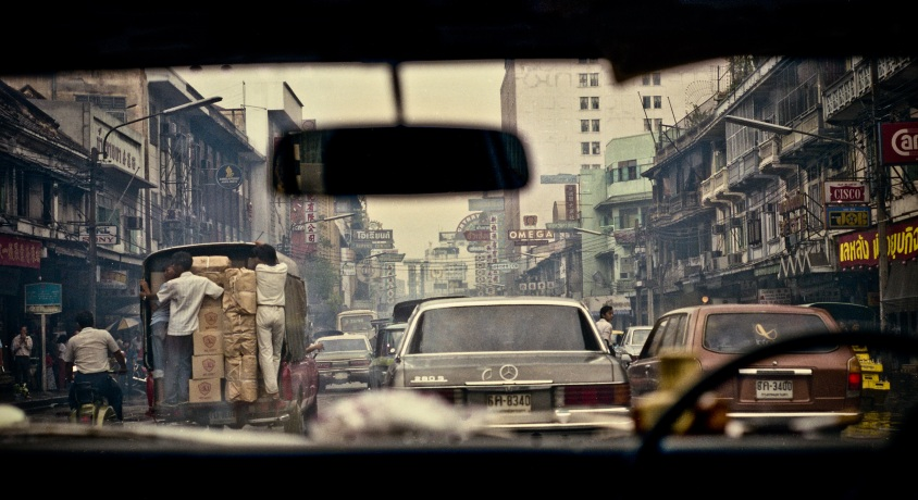 Bangkok Taxi Copyright 1982 Daniel D. Teoli Jr. mr