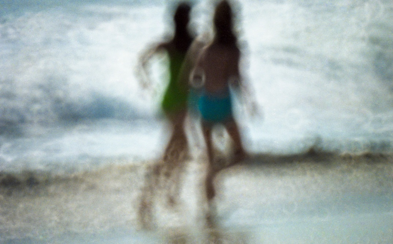 Beach Abstract Copyright 1984 Daniel D. Teoli Jr. mr