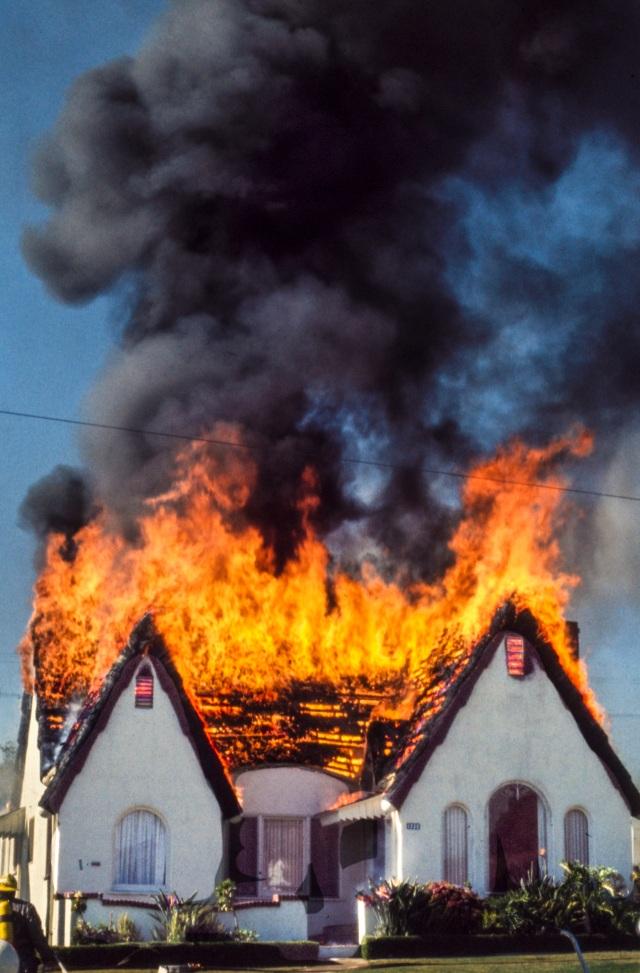 House on Fire V12 Copyright 1972 Daniel D. Teoli Jr mr