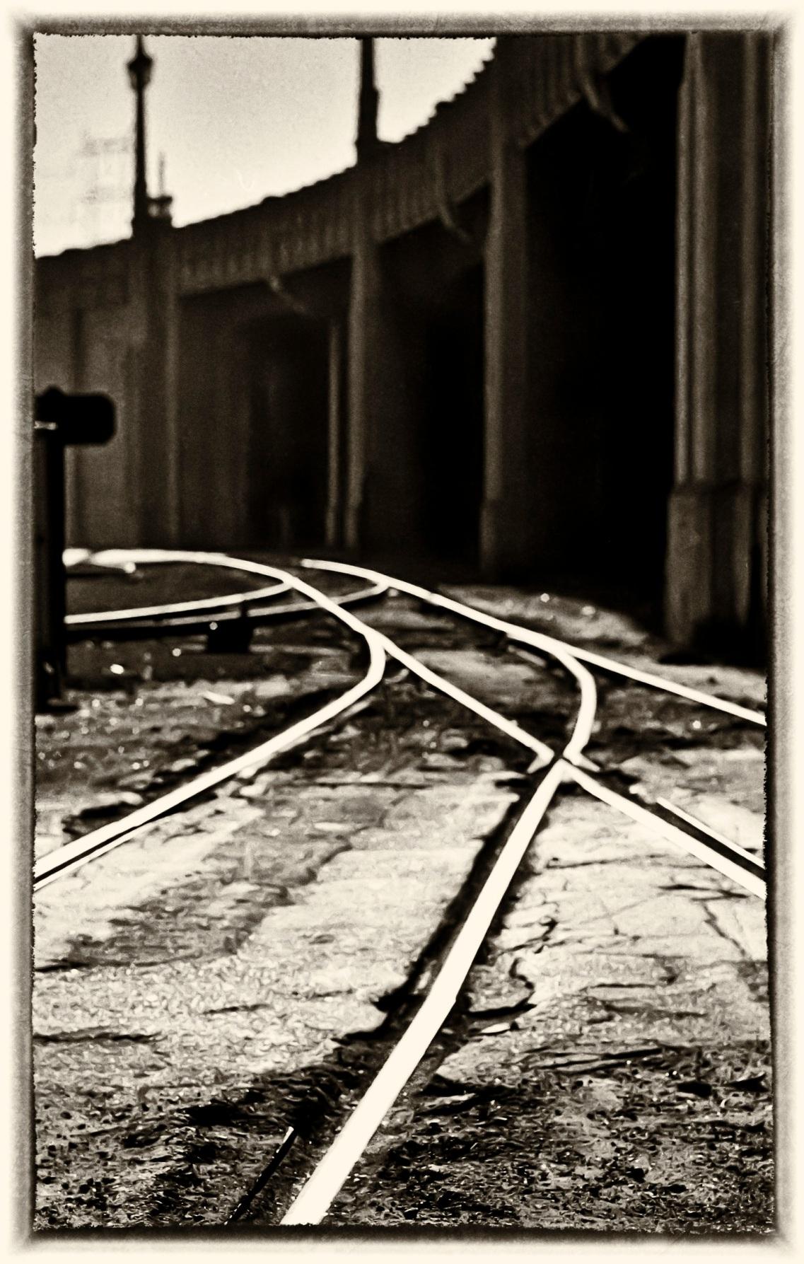 Train Tracks cop[yright 1972 Danewil D. Teoli Jr.  mr