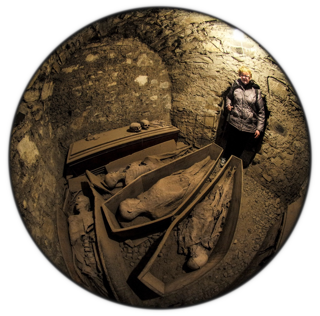 Crypt St. Michan's copyright 2015 Daniel D. Teoli Jr. mr