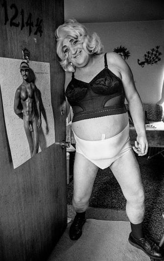 Joe at Doorway - Gender Benders from the 1970's 1974 Daniel D. Teoli Jr. m
