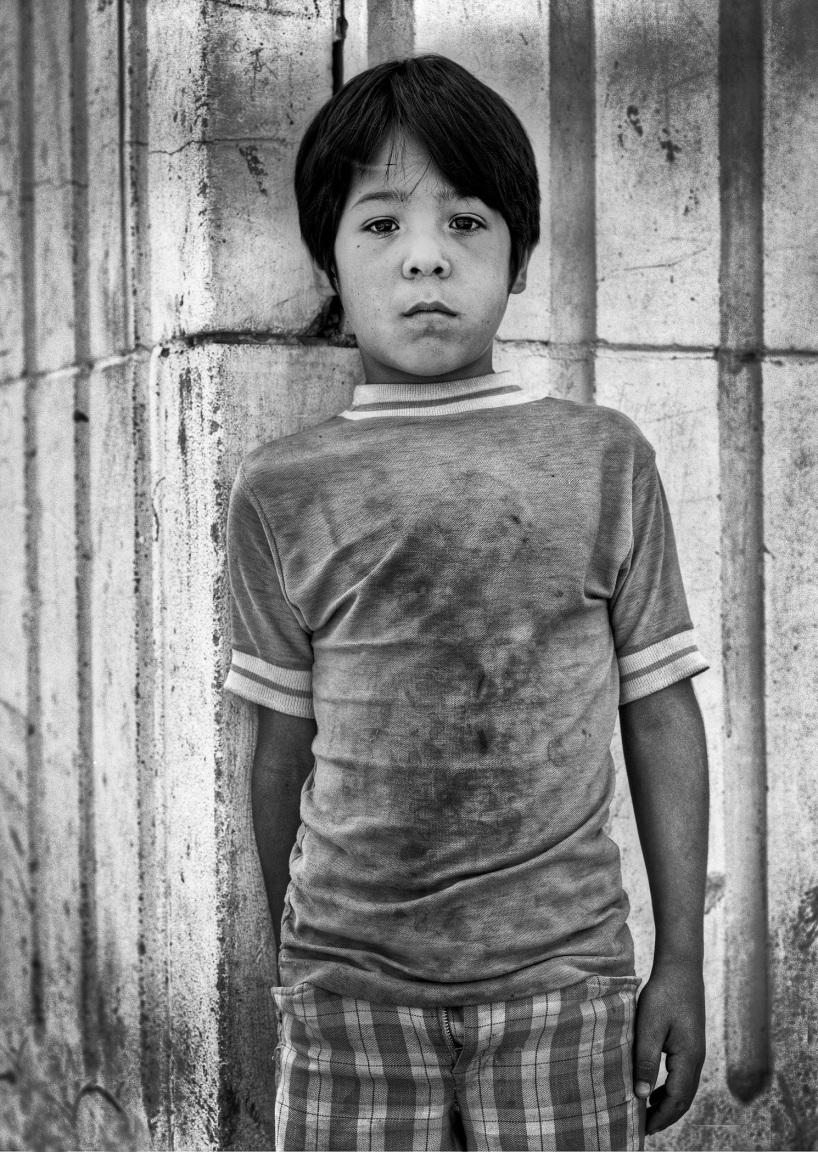 Mexican Boy copyright 1972 Daniel D. Teoli Jr. mr