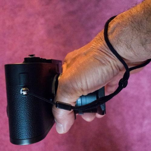 camera strap D.D. Teoli Jr.