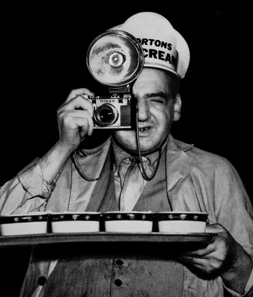 Weegee Infrared Flash Reenactment Pop Mech April 1956
