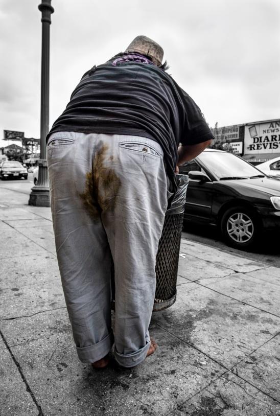 Man Eating Trash 2015 Daniel D. Teoli Jr. mr