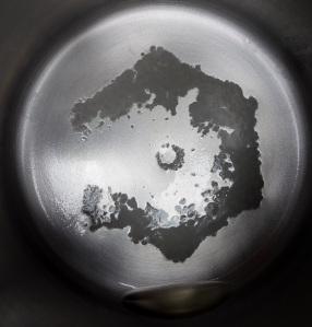 1 gal St. Clairsville, Ohio tap water distilled 3.7.16