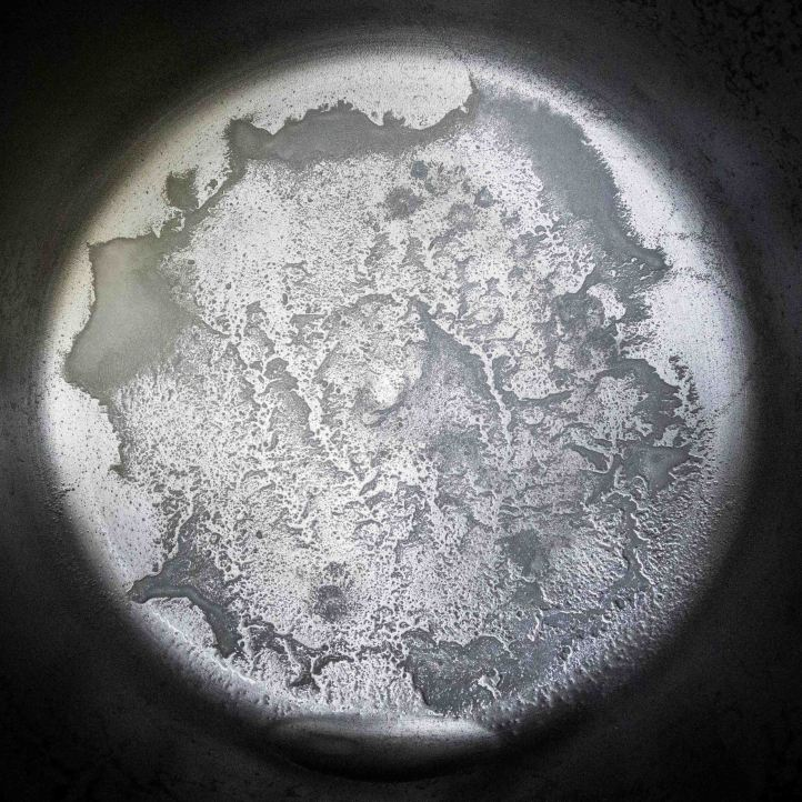 Distillation residue from 1 gal of Rochester MN water softener tap water D.D.Teoli Jr. 6.25.20