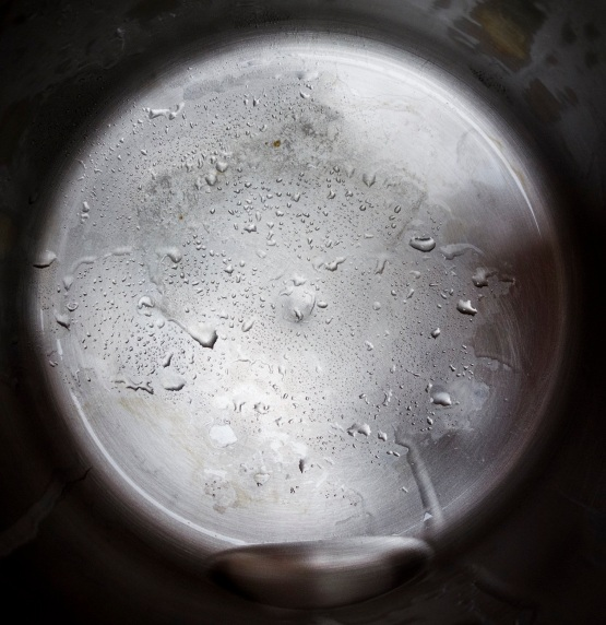 Distillation residue from 1 gallon of Disani purified water with minerals 5.3.16