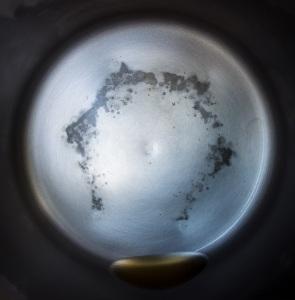 Distillation residue from 1 gallon of Kroger Drinking Water 8.30 (2)