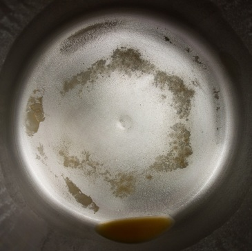 Distillation residue from 1 gallon of Malibu CA tap water (1)
