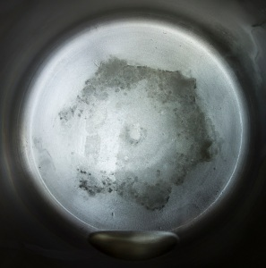 Distillation residue from 1 gallon of Morgantown WV tap water 7.16.16