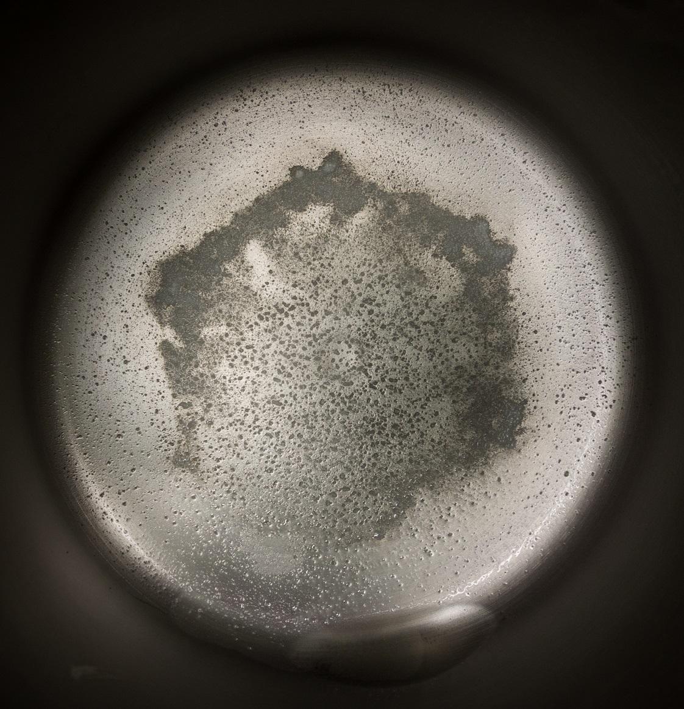 Distillation residue from 1 gallon of Riverside CA tap water 7.28.17