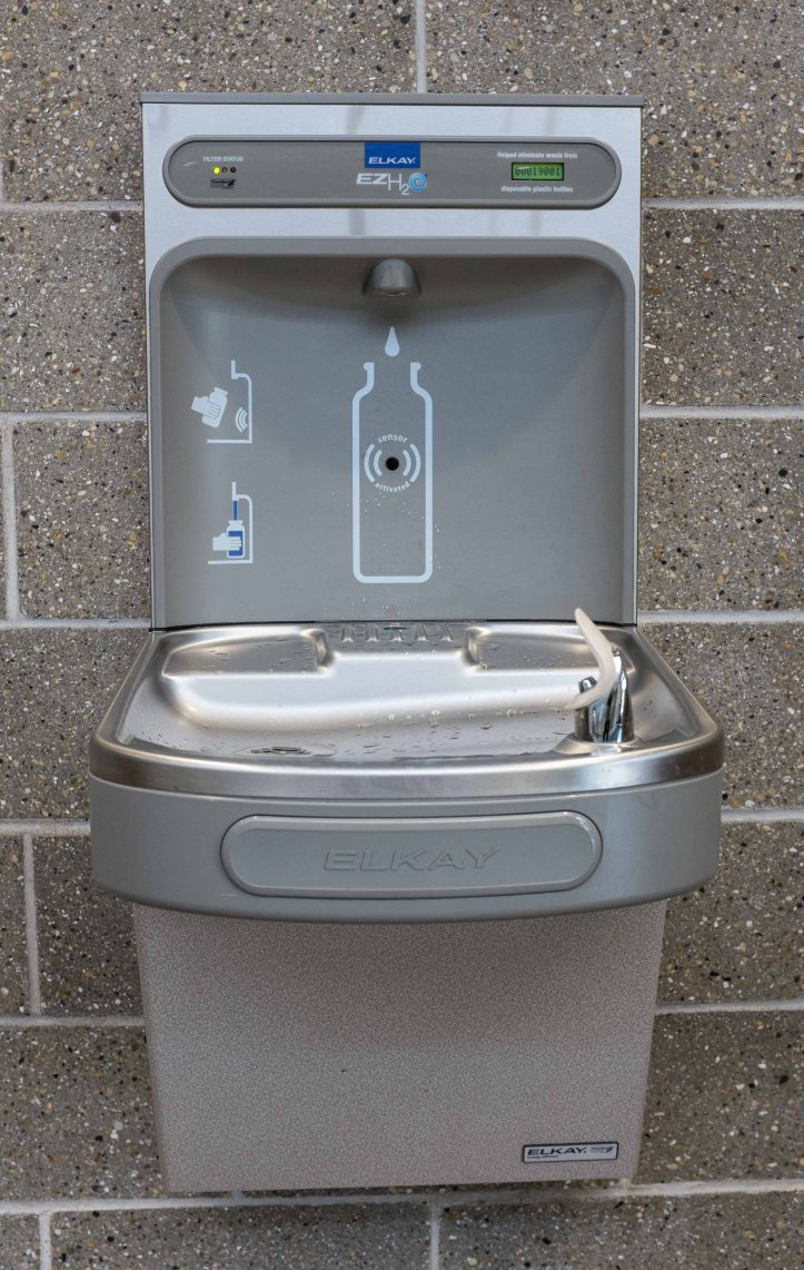 Elkay filtering water fountain D.D.Teoli Jr.