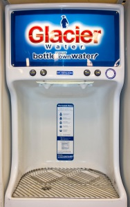 Glacier self-serve water vending machine