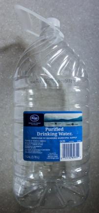 Kroger Purified Drinking Water 2016