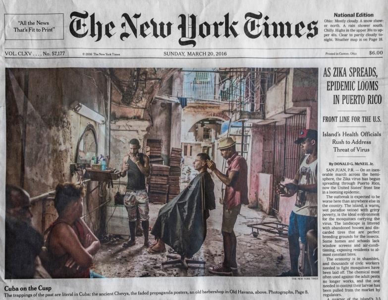 NY Times HDR photo