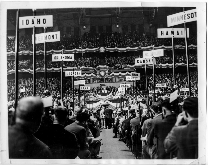 1940 Democratic National Convention - Chicago, IL- Daniel D. Teoli Jr. Archival Collection
