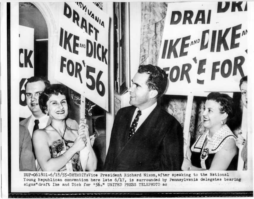 1955 National Young Republican Convention Detroit - Vice President Richard M. Nixon - Daniel D. Teoli Jr. Archival Collection
