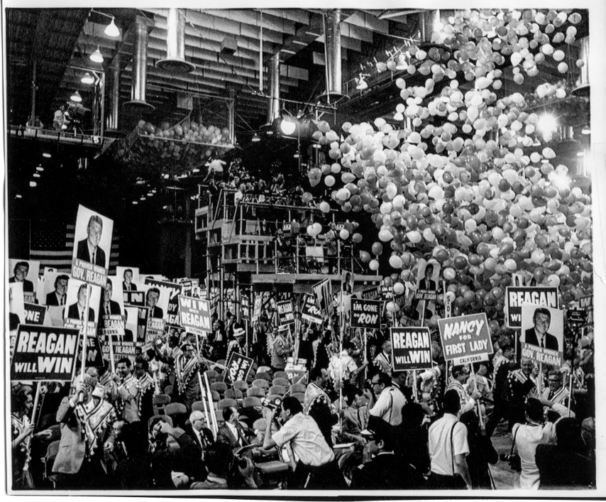 1968 Republican National Convention Miamai Beach - Gov. Ronald Reagan - Daniel D. Teoli Jr. Archival Collection
