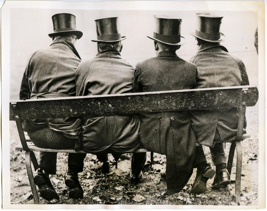 A High hat Affair - Westminister Schoolboys -London 1934 - Daniel D. Teoli Jr. Archival Collection