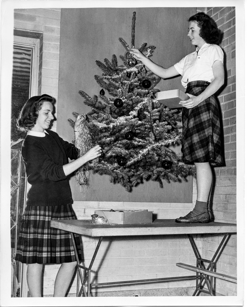 Christmas December 1941 Alice Ammerman & Mary Cox - Daniel D. Teoli Jr. Archival Collection