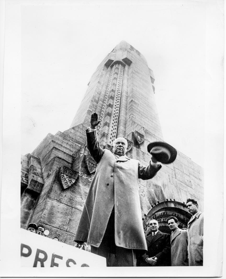 Nikita Khrushchev 1960 - Daniel D. Teoli Jr. Archival Collection
