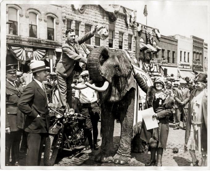 Republican Celebration 1929 Daniel D. Teoli Jr. Archival Collection