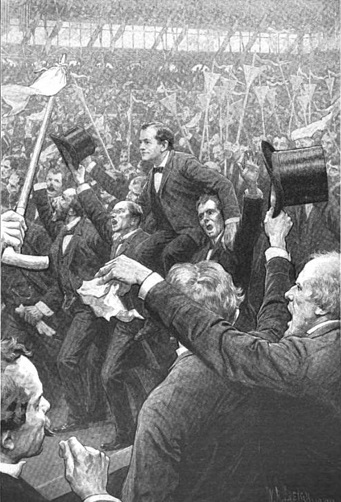 1896 DNC Bryan_after_speech