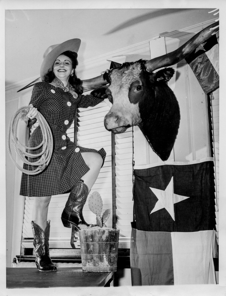 1944 Bette Capello TX Headquarters DNC Temple of Dreams Daniel D. Teoli Jr. Archival Collection (4)m