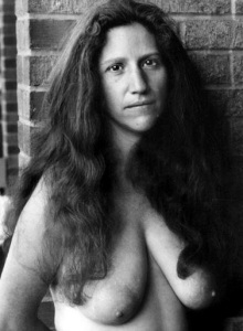 Diane Di Prima topless - post processing Daniel D. Teoli jr.