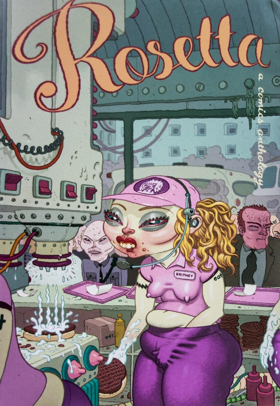 Rosetta - a comics anthology