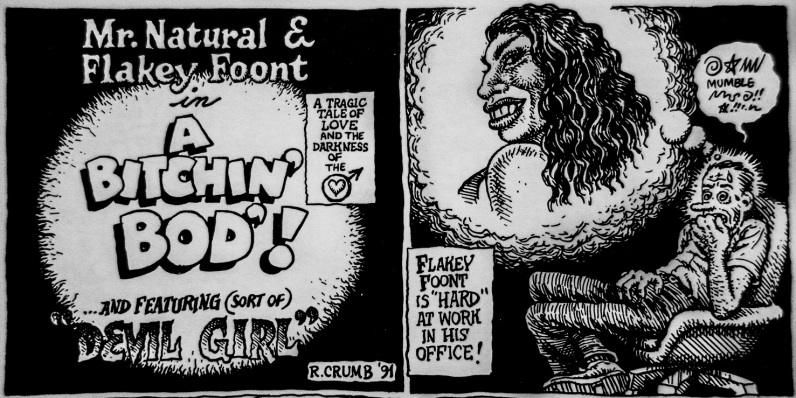 A Bitchin Bod Robert Crumb (1) m