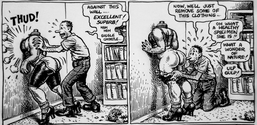 A Bitchin Bod Robert Crumb (2) m
