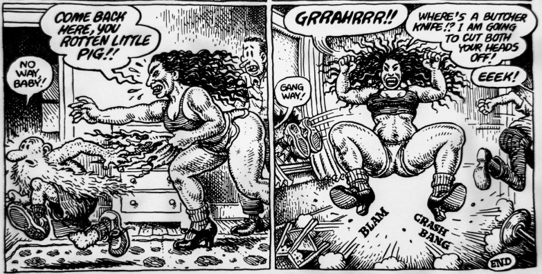 A Bitchin Bod Robert Crumb (5) m