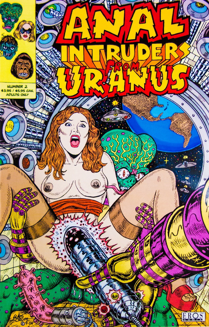 Anal Intruders from Uranus Wes Crum m