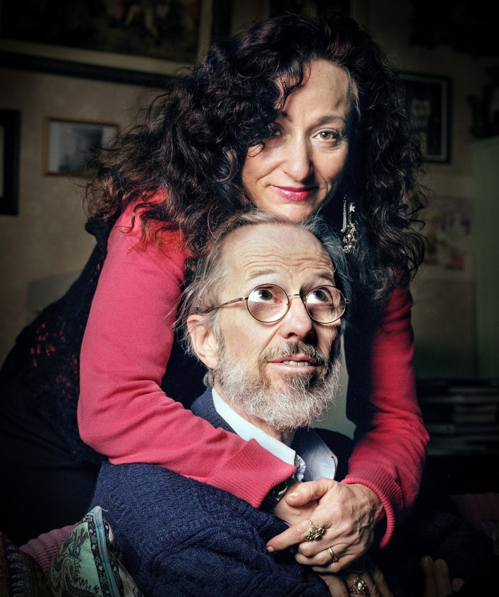 Robert Crumb and Aline Kominsky-Crumb at home - Eamonn McCabe for the Guardian - Post P. D.D. Teoli Jr. m