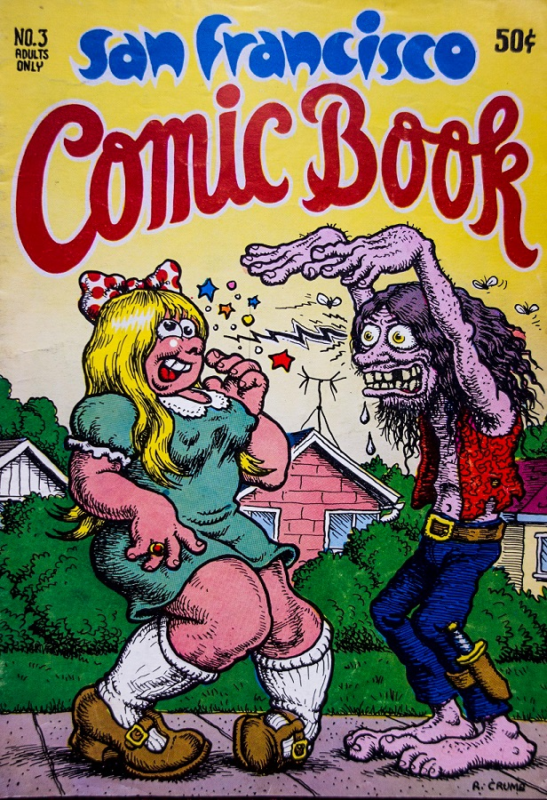 San Francisco Comic Book cover Robert Crumb m