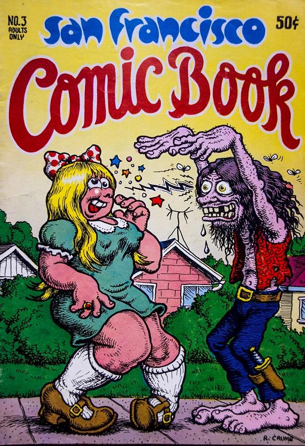San Francisco Comic Book cover Robert Crumb m