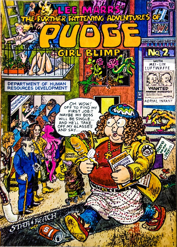 The Further Fattening Adventures of Pudge Girl Blimp Lee Marrs m