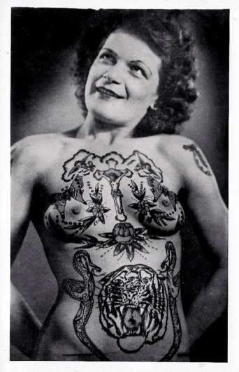 tatooed-lady-daniel-d-teoli-jr-archival-collection