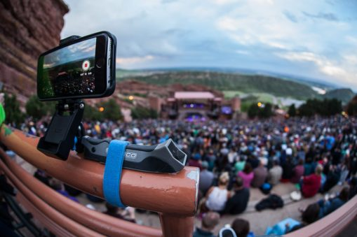 Pedco UltraPod GO at Red Rocks Amphitheatre
