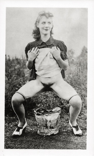 woman-peeing-in-bucket-1930s-daniel-d-teoli-jr-archival-collection-m