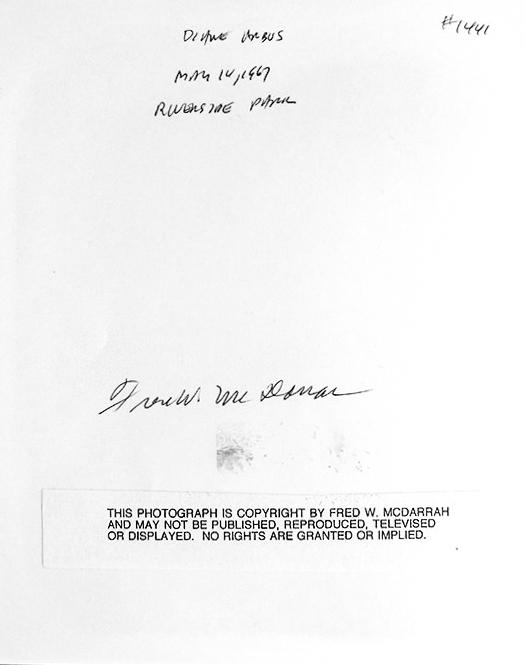 DIANE ARBUS 1967 by FRED McDARRAH 2