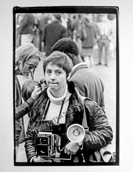 DIANE ARBUS 1967 by FRED McDARRAH