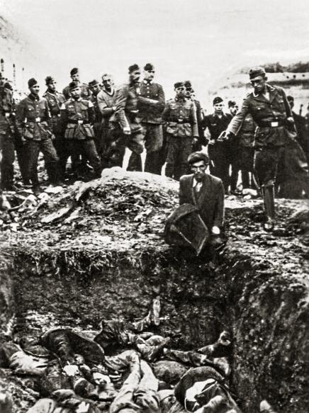 Einsatzgruppen Killing last jew in Vinnytsia