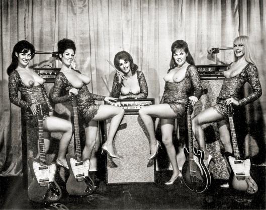 LadybirdsTopless Girl Band j